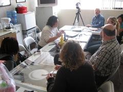 Meeting with Pastoral Obrera
