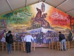 Mural in Toluca de Guadalupe