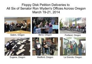 floppy petition deliveries 2014