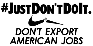 just don't do it banner med