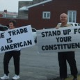 The Pennsylvania Fair Trade Coalition held a demonstration outside Congressman Jason Altmire's office yesterday, calling on him to oppose the Colombia Free Trade Agreement.  Read the results of their action...