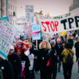 A united cross-sector movement of labor, environmental, family farm, consumer, faith and other organizations have escalated their campaign to defeat the Trans-Pacific Partnership (TPP) with a joint 1,525-group letter urging […]