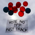 Fast Track legislation that would allow the Trans-Pacific Partnership (TPP) and other trade proposals to be rushed through Congress has been met by a tidal wave of resistance. The so-called […]