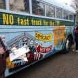 "Senator Ron Wyden (D-OR) is currently deciding whether to join Republicans in cosponsoring ""Fast Track"" legislation that would allowing pending trade agreements like the Trans-Pacific Partnership (TPP) to be rushed through Congress, circumventing […]"