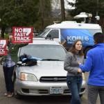 TV coverage in Portland
