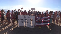 In a remarkable protest outside the Trans-Pacific Partnership (TPP) Ministerial in Maui on July 29, 2015, at least four hundred people took part in a unified sounding of the pū […]