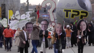 Scores of protestors descended on Tollefson Plaza for a Star Wars-themed protest to influence elected representatives' positions on the Trans Pacific Partnership (TPP). The Washington Fair Trade Coalition, Backbone Campaign, […]