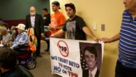 On Thursday, October 6, 2016, over 100 El Pasoans packed a town hall event hosted by Congressman Beto O'Rourke, urging him to oppose the proposed Trans-Pacific Partnership (TPP). The town […]