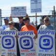 Displaced workers, community members and fair trade advocates held a picket on April 24th demanding that WestRock — owners of the idled Newberg, Oregon paper mill — make the property […]